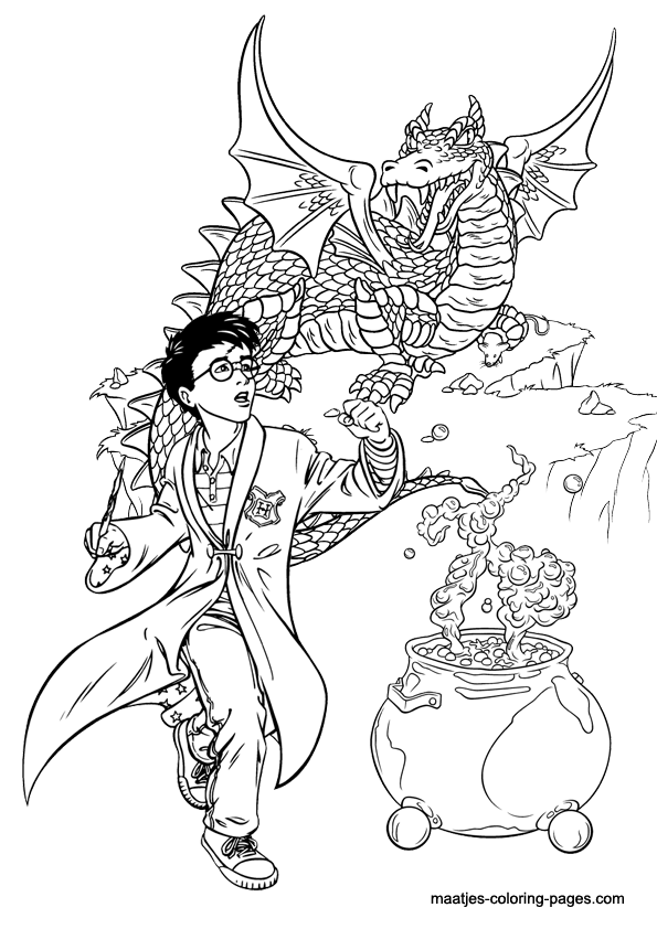 Harry Potter Harry Potter Coloring Pages Harry Potter Coloring Book Harry Potter Portraits