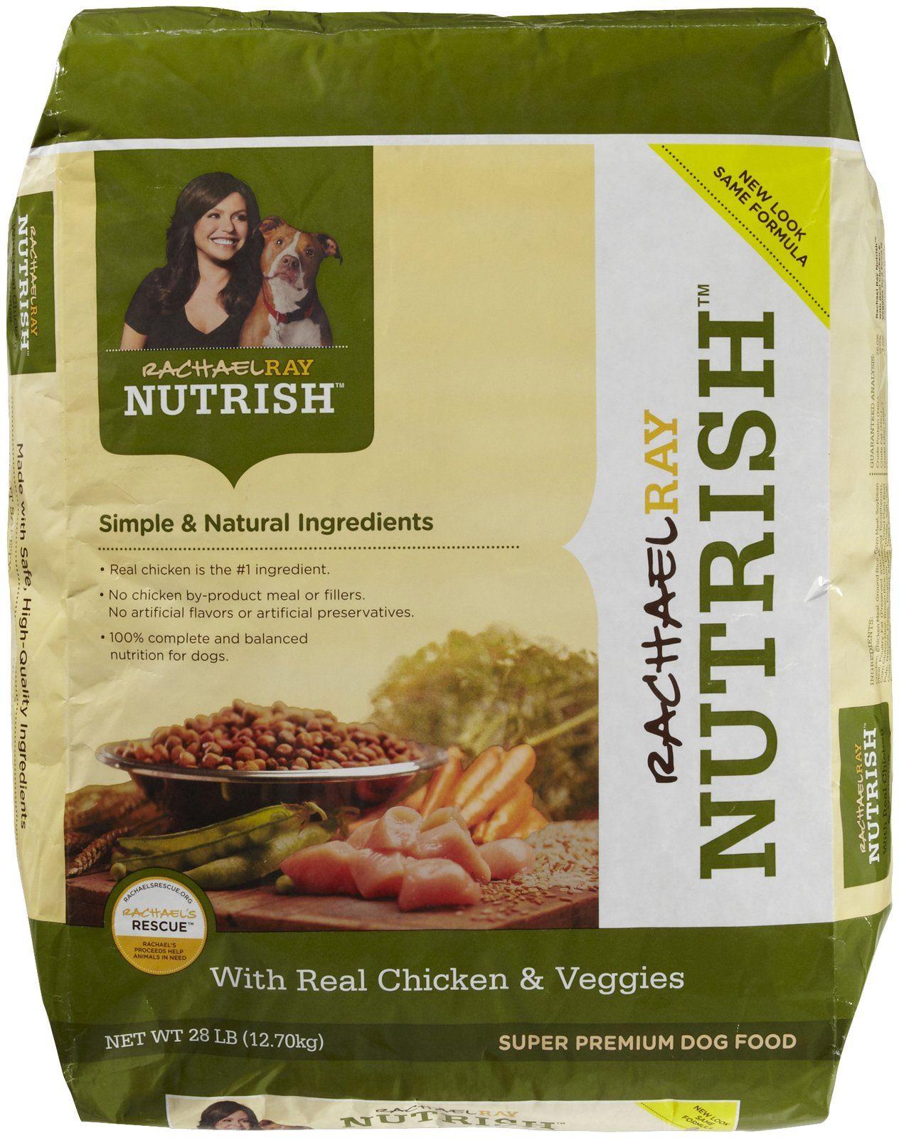 Rachael Ray Nutrish Chicken & Veggies Dog Food Free Shipping