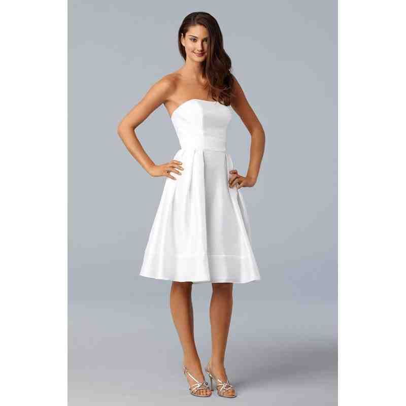 Casual Wedding Dresses For Second Marriages Off White
