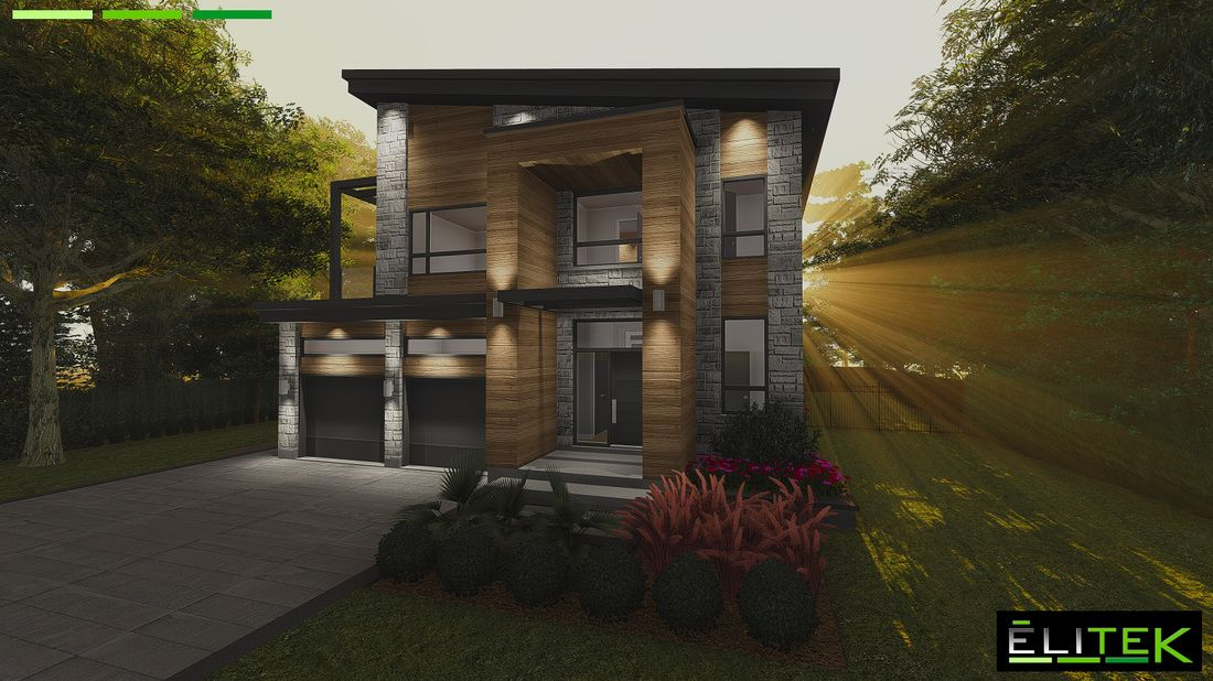 plan de maison - Design Elitek inc Plan de maison Maison St - Plan De Maison Originale