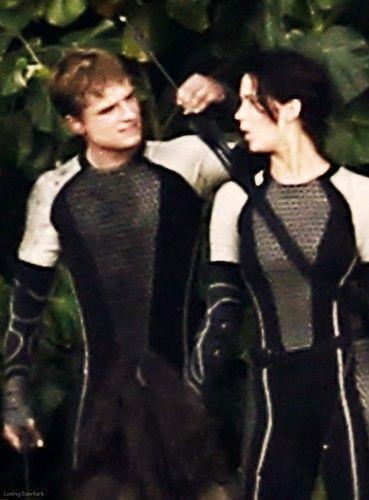 Peeta Katniss Catching Fire Hunger Games Costume