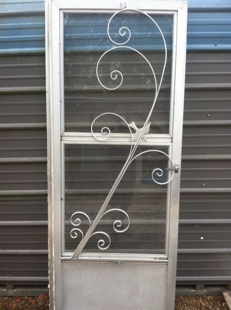 I Have This New Old Stock Aluminum Screen Door Guard All