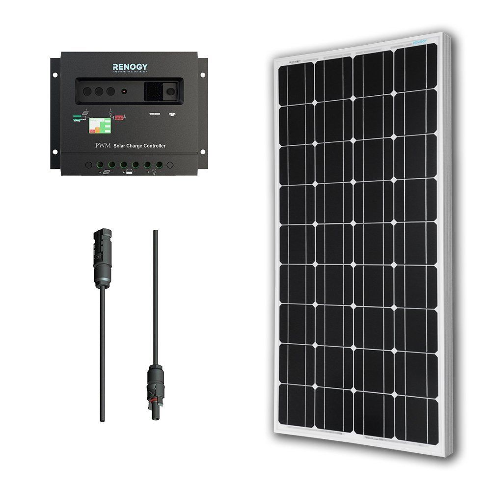 Solar Panel Bundle 100w Monocrystalline 30a Charge Controller Review 24v Waterproof Led Street Light Pwm Circuit