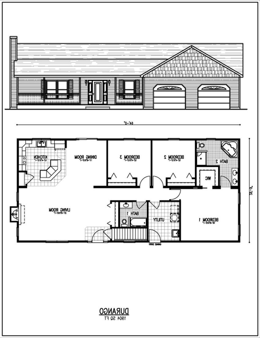 Software To Draw House Plans Free 2020 Ranch House Floor Plans House Floor Design House Plans