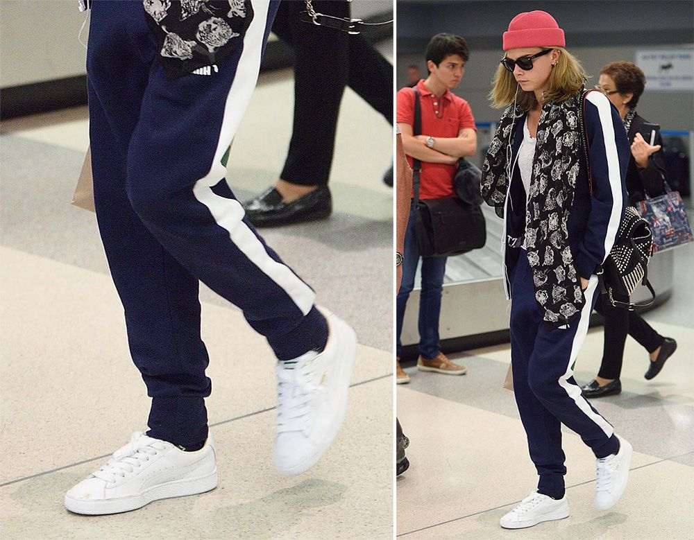 1fbef1e2484d Cara Delevingne Has Worn Some Extreme Shoe Looks on the Suicide Squad Promo  Tour