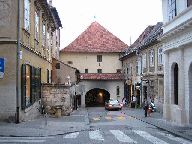 Old Town Gate Zagreb Croatia Zagreb Zagreb Croatia Croatia