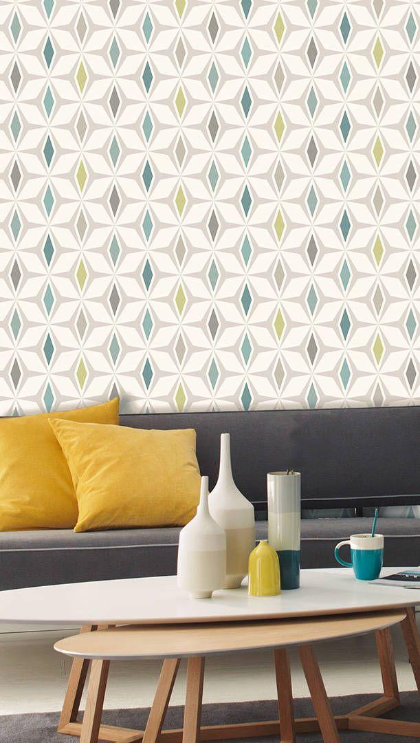 Livingwalls Vliestapete 304761 Tapete, Tapeten, Taphete, Tapetten - Wohnzimmer Design Grun