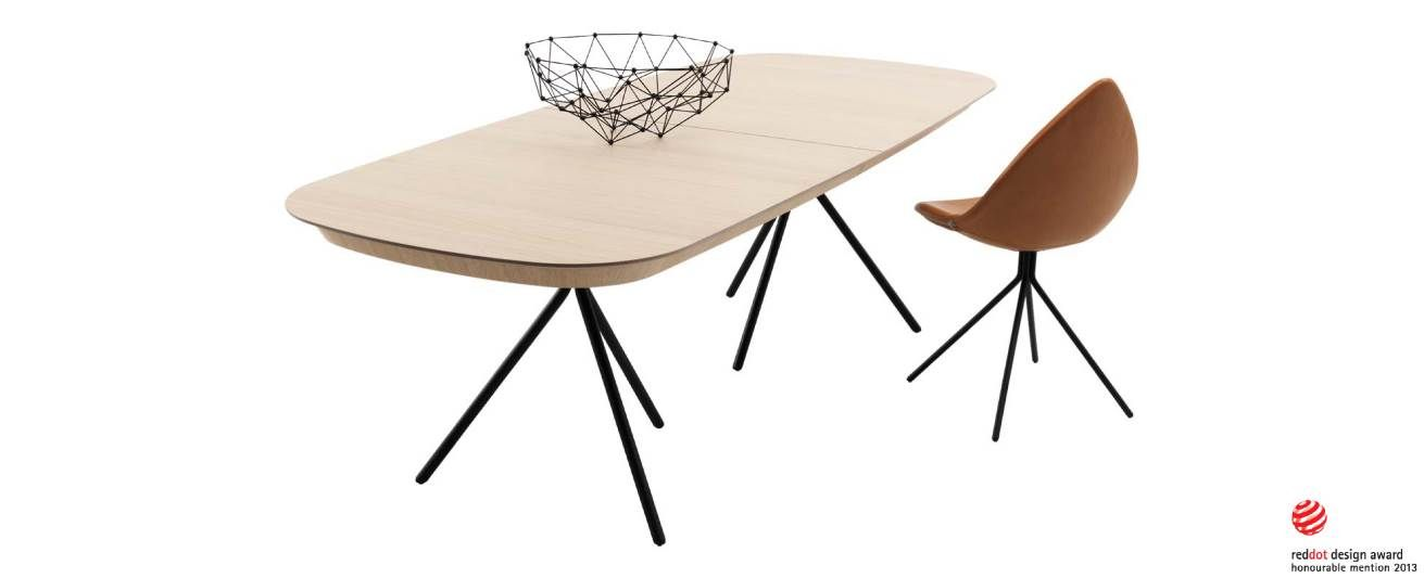 Ottawa Table By Kareem Rachid A Rallonges Pour Bo Concept Arrived Yesterday Salle A Manger Moderne Table A Manger Extensible Mobilier Danois