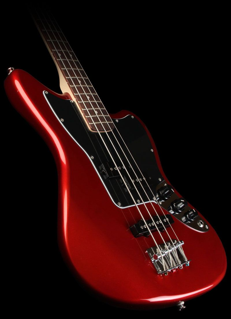 Squier Vintage Modified Jaguar Bass Special Shortscale Rw Candy Apple Red Bass Guitar Guitar Guitar Chord Chart