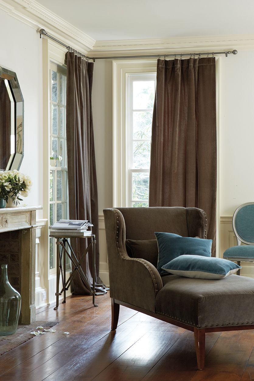 How to hang drapes window living rooms and room