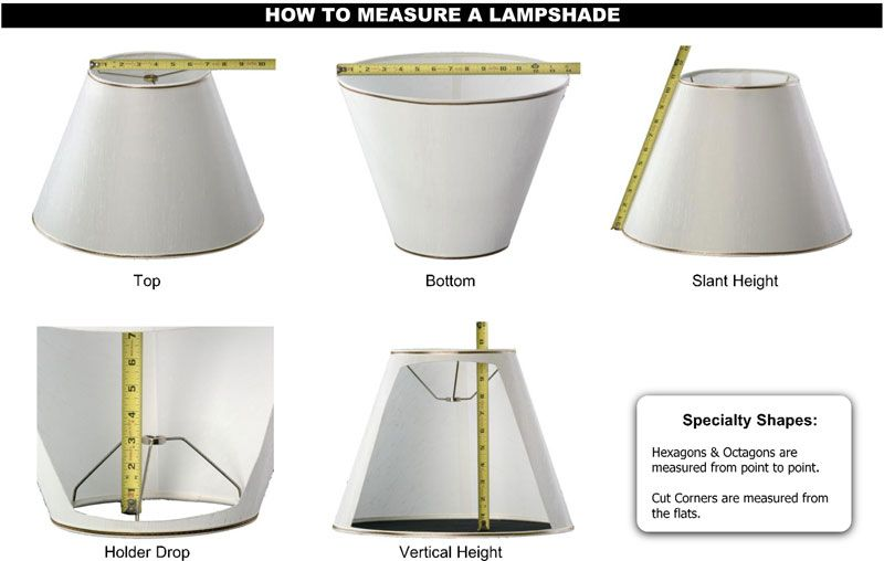 How To Measure Lamp Shade Alluring Google Image Result For Httpwwwalampshadeimageshowto Decorating Design