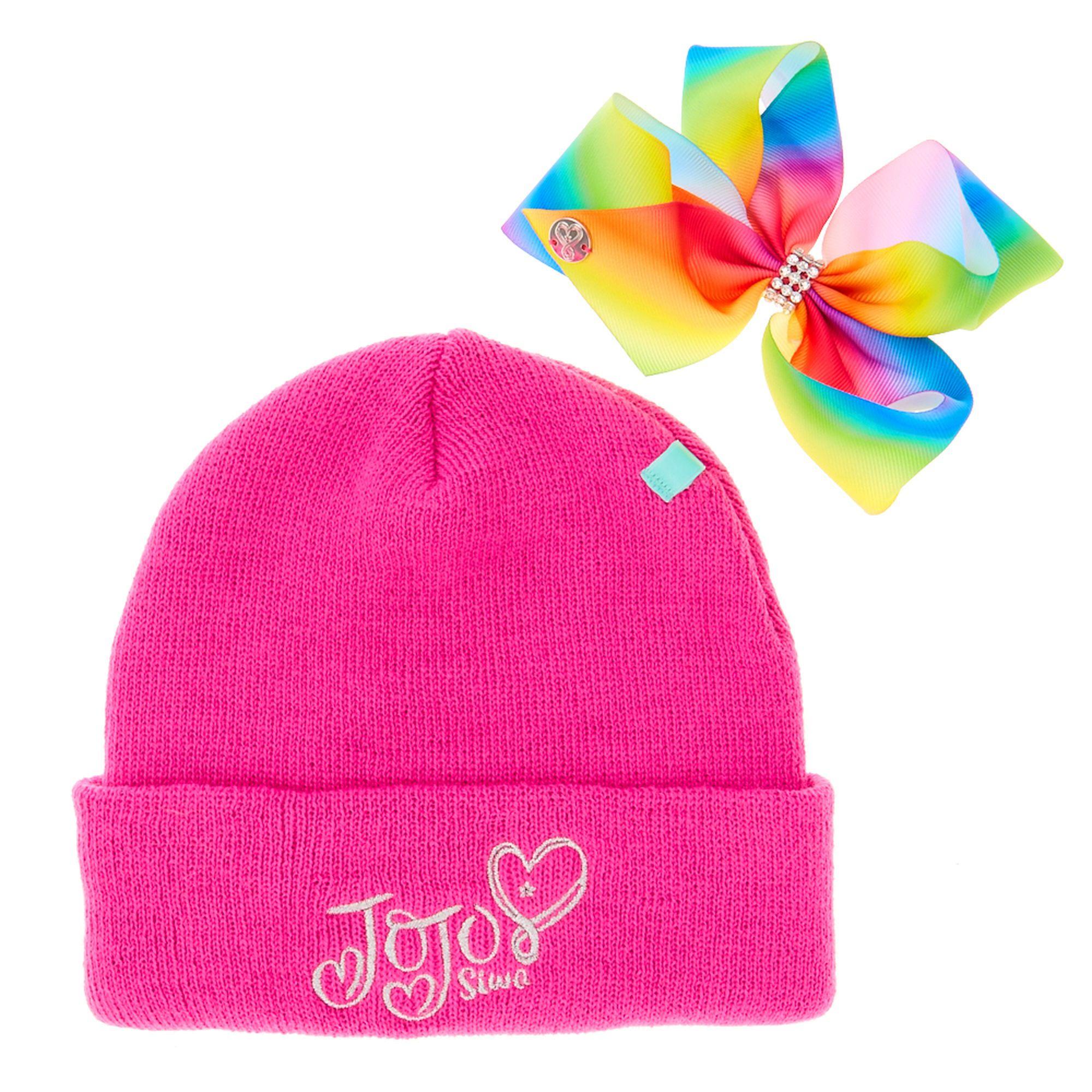 cb77b96fe7df3 JoJo Pink Bow Beanie Hat