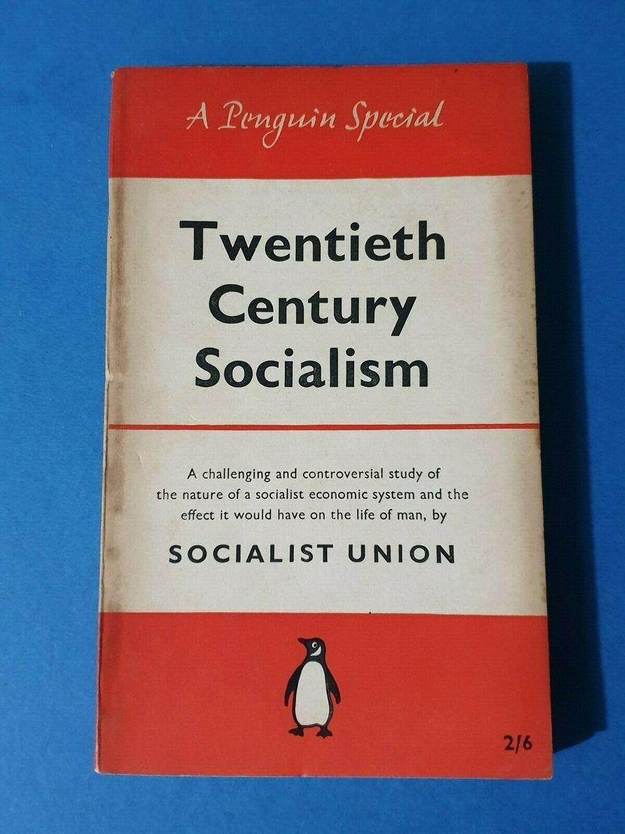 A Penguin Special Book 1956 Twentieth Century Socialism