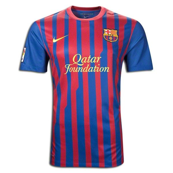 11 12 Barcelona Home Red And Blue Soccer Jersey Shirt Replica  9cc0f70d5