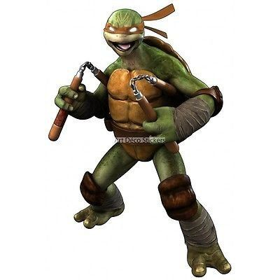 Wandtattoo Wall Stickers Teenage Mutant Ninja Turtle | Kinderzimmer ...