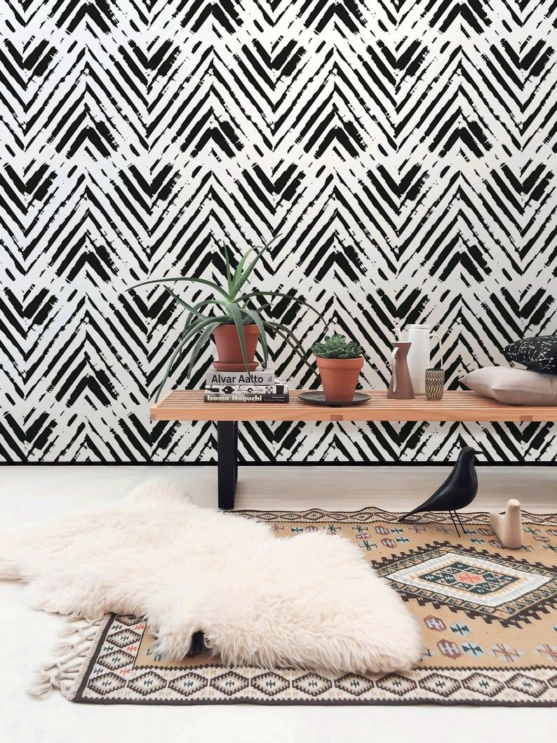 Removable Wallpaper Peel And Stick Wallpaper Wall Paper Wall Etsy In 2021 Wall Wallpaper Wall Art Wallpaper Removable Wallpaper