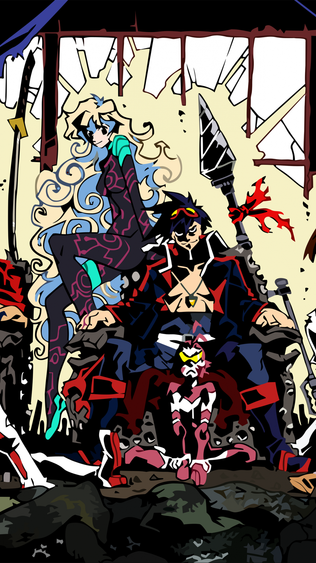 Tengen toppa gurren lagann hd wallpapers tengen toppa - Gurren lagann wallpaper ...