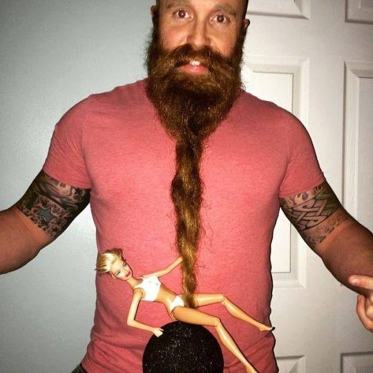 funny beard twirling