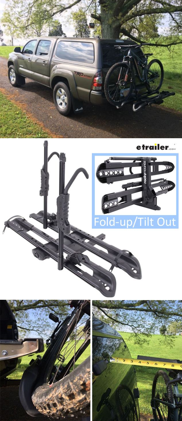 Perfect Bike Rack For Your Toyota Tacoma Versatile Platform Hitch Mounted Bike Rack Folds Up When Not In U Hitch Mount Bike Rack Toyota Tacoma Hitch Bike Rack