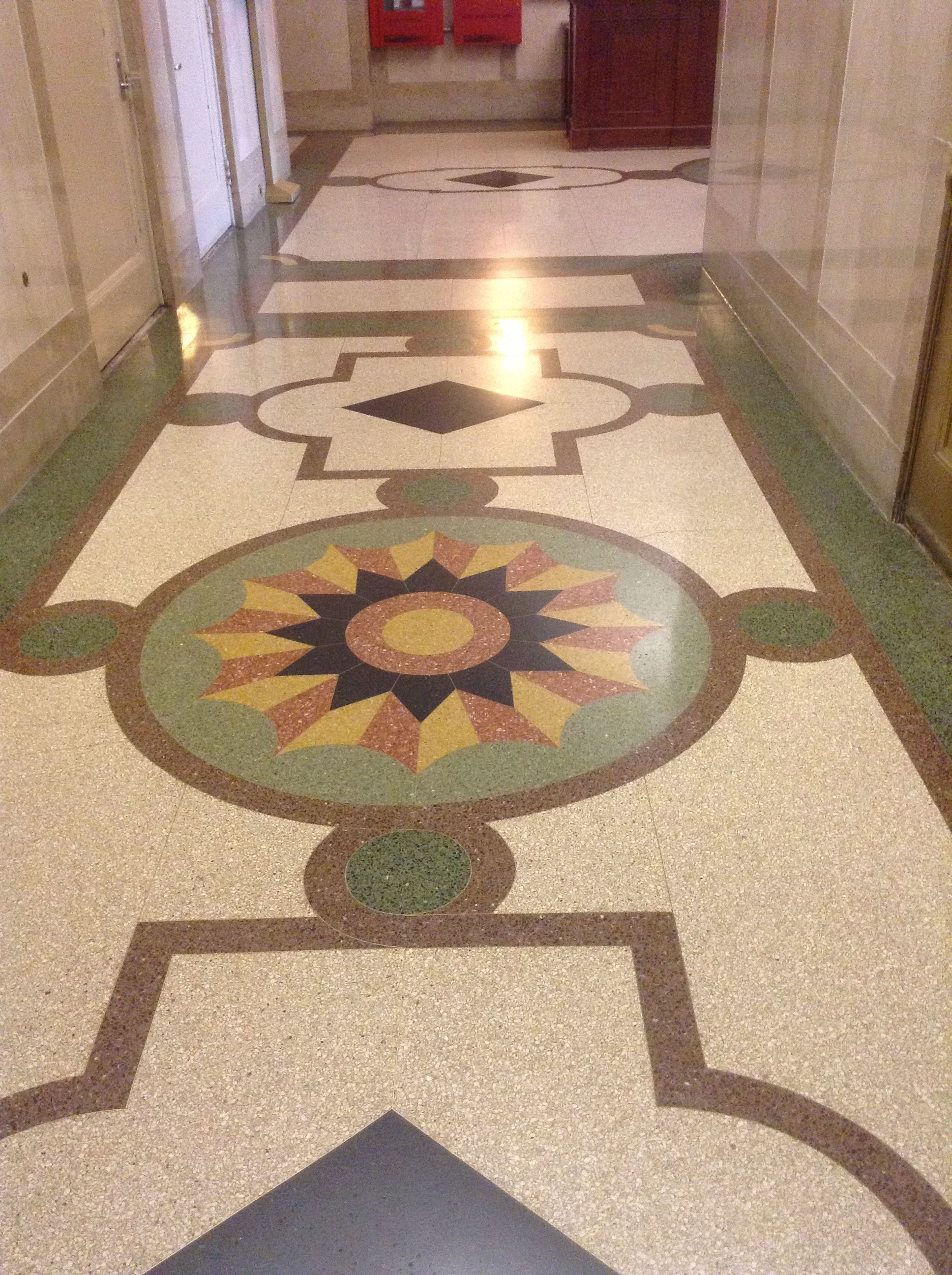 Beautiful Terrazzo Floor In Lower Manhattan Lower