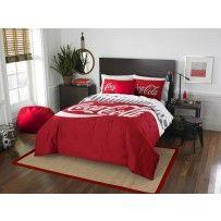 Coca Cola Bedding Twin Full Comforter 2 Shams Set Coca Cola
