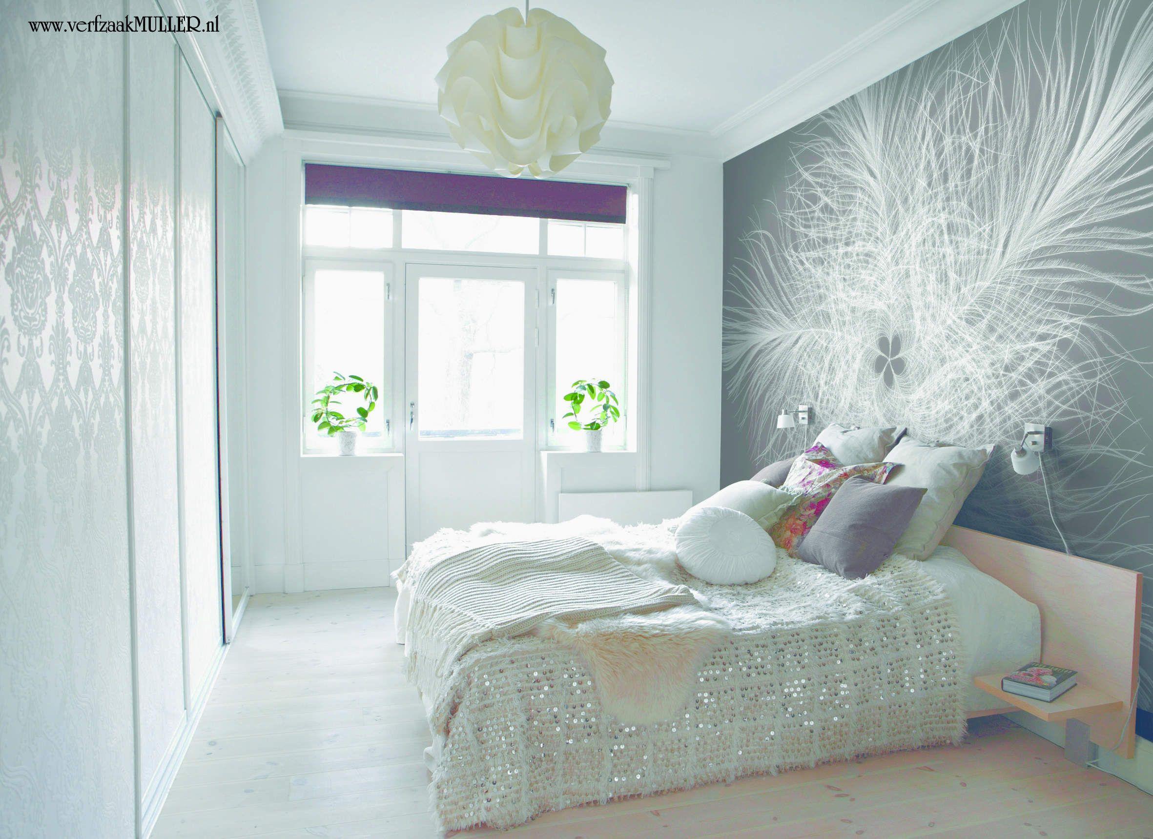 Modern Behang Slaapkamer.Wallpaper Behang Slaapkamer Muur Ontwerpen Slaapkamer