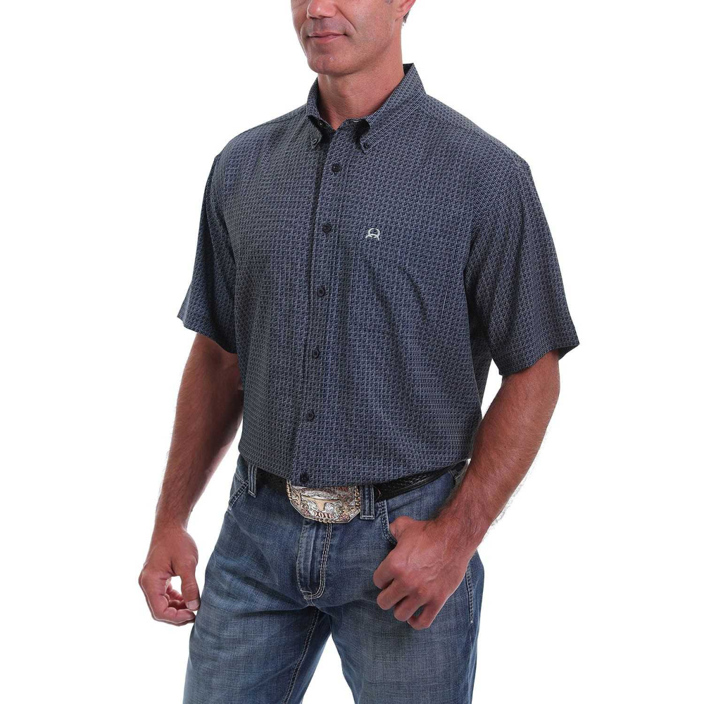 SportsX Mens Slimming Button Denim Basic Cotton Long Sleeve Western Shirt
