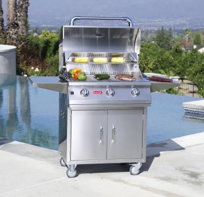 Bull Outdoor Lonestar Select Grillcart Bullgrills Grill Cart Gas Barbecue Grill Bull Bbq