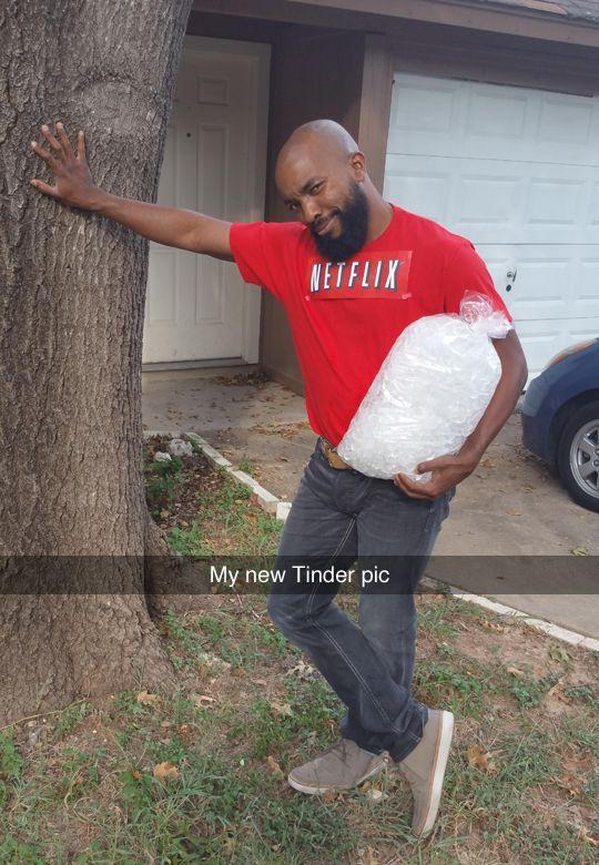 Netflix and Chill\ - cheap homemade halloween costume ideas