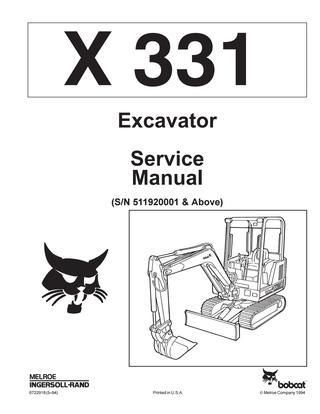 click on the image to download Bobcat X331 Hydraulic