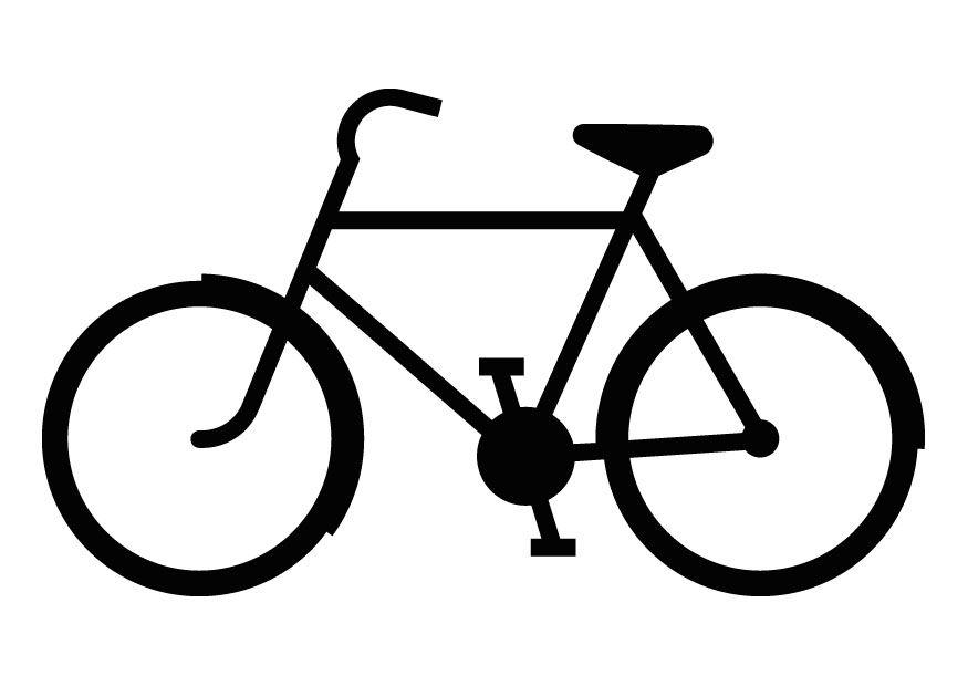 push bike Colouring Pages | Siluetas de motos, Silueta bicicleta, Bicicleta  dibujo