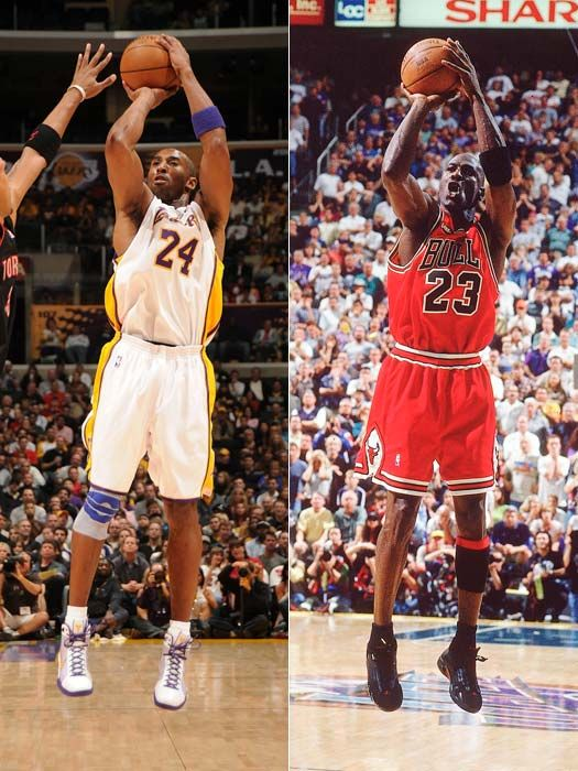 Kobe and michael | Bryant Vs Michael Jordan | | Kobe | Pinterest ...