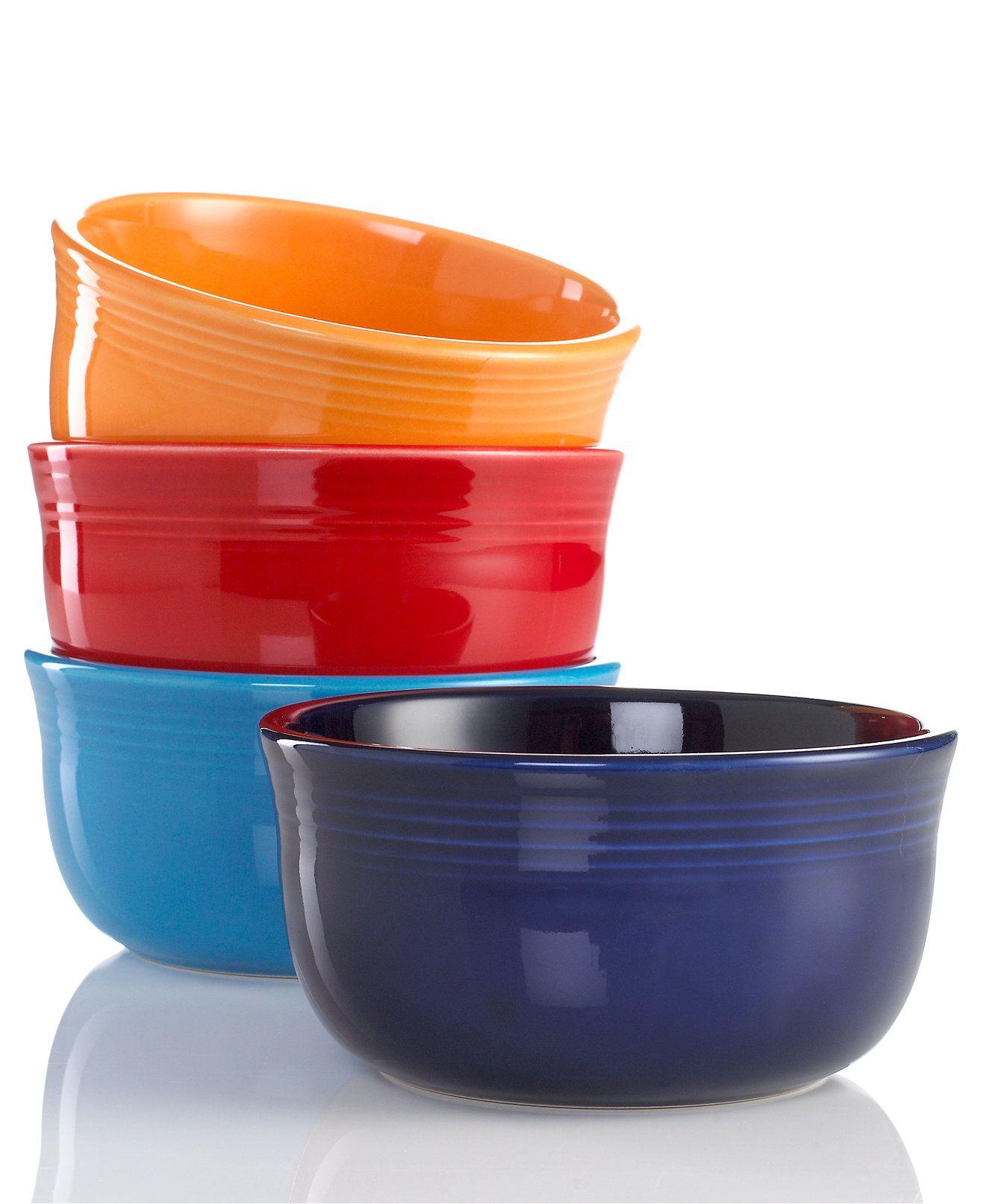 Gusto Bowls - Fiesta Dinnerware - Dining u0026 Entertaining - Macyu0027s  sc 1 st  Pinterest & Fiesta 28-oz. Gusto Bowls Collection | Gusto Fiestas and Dinnerware