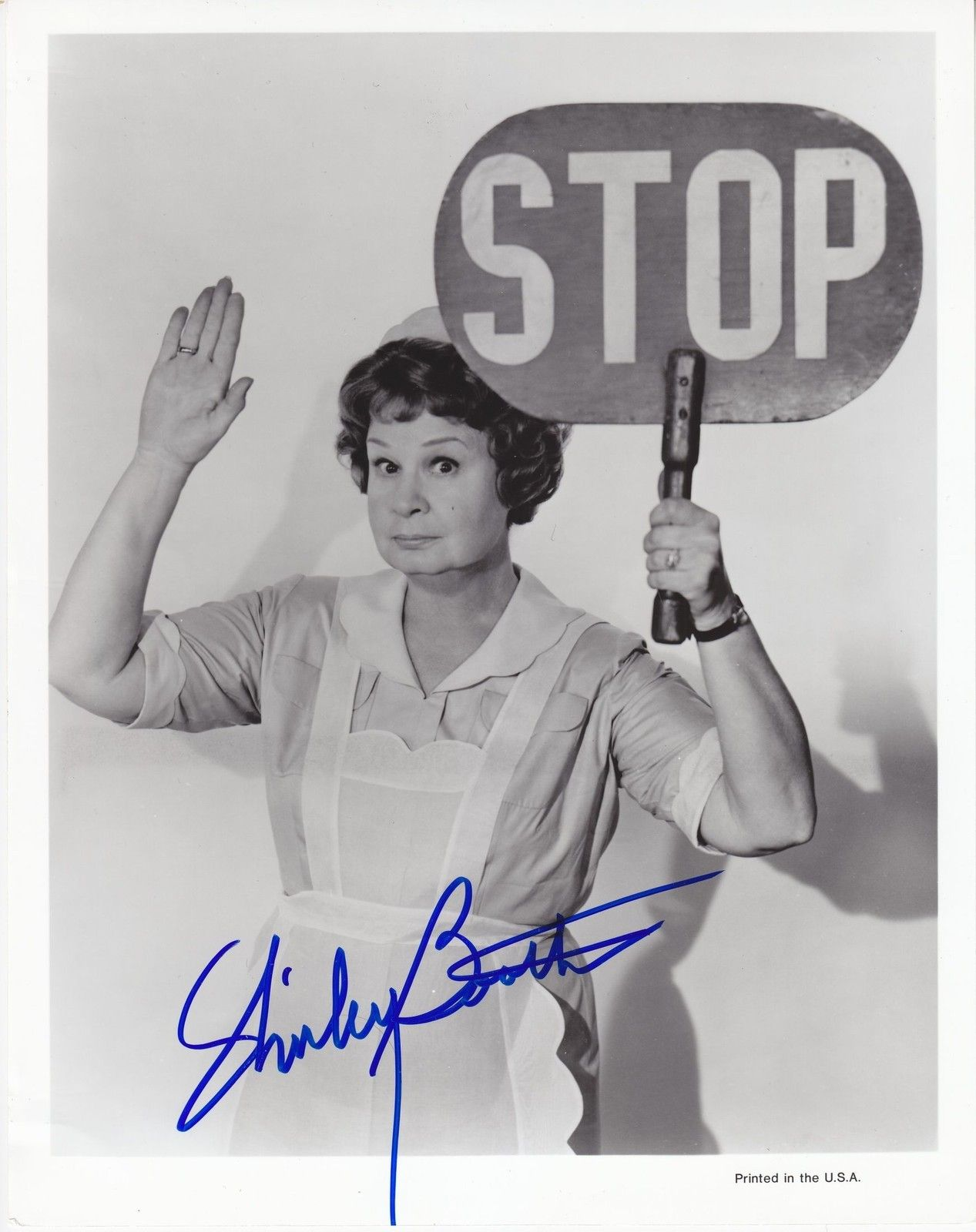 Shirley Booth Hand Signed Autographed 8x10 Photograph Photo Hazel