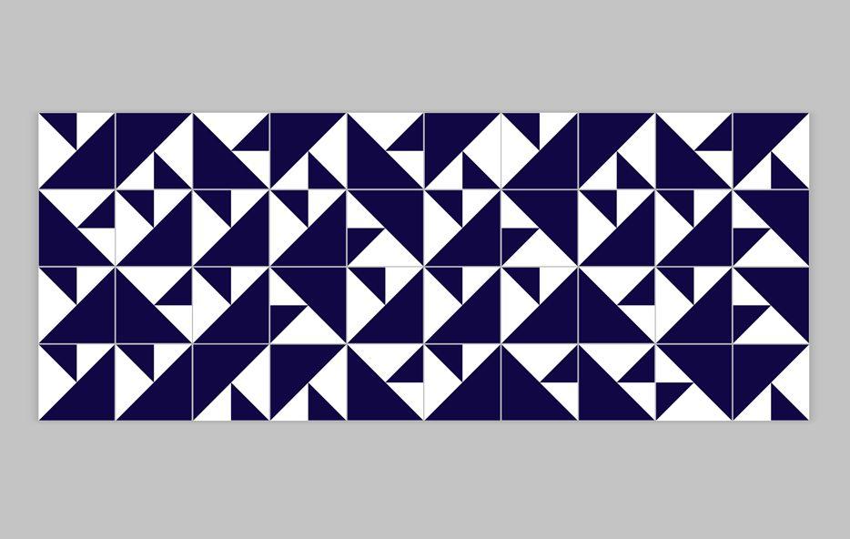 Lurca Azulejos - Coleção Modelo Laje Azul Royal // Collection Laje Royal Blue Ceramic Tiles // Shop Online www.lurca.com.br/ #azulejos #azulejosdecorados #revestimentos #arquitetura #interiores #decor #design #sala #reforma #decoracao #geometria #casa #ceramica #architecture #decoration #decorate #style #home #homedecor #tiles #ceramictiles #homemade