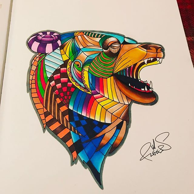 Entry by @fingers_art_ for our Inked competition.