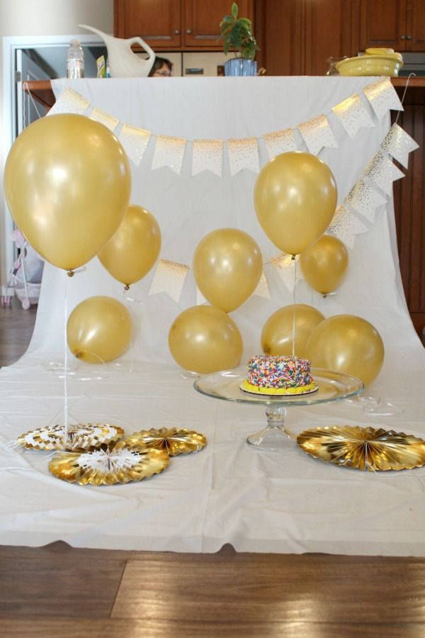 5 easy steps to create an adorable first birthday