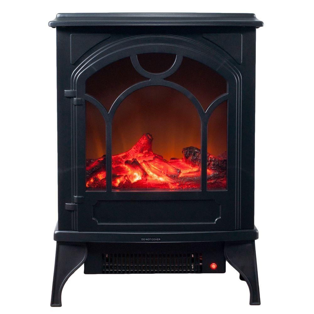 Northwest 21 5 In Freestanding Classic Electric Log Fireplace In