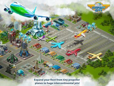 Airport City APK Mod Unlimited Money New Update