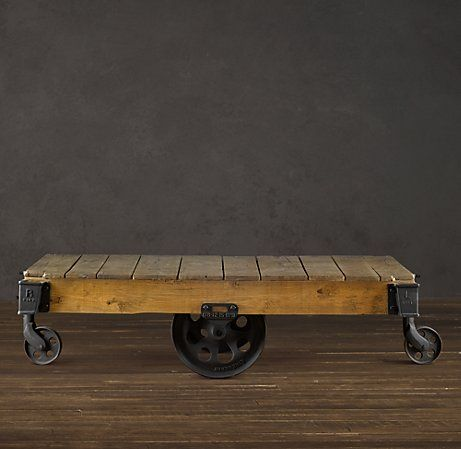 Furniture Factory Cart Cart Coffee Table Furniture Factory Coffee Table Restoration Hardware