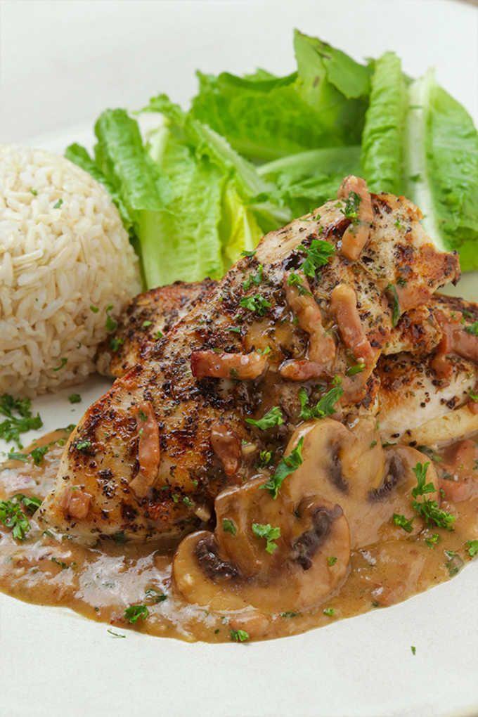Photo of Just Like Carrabba's Italian Grill Chicken Marsala Recipe