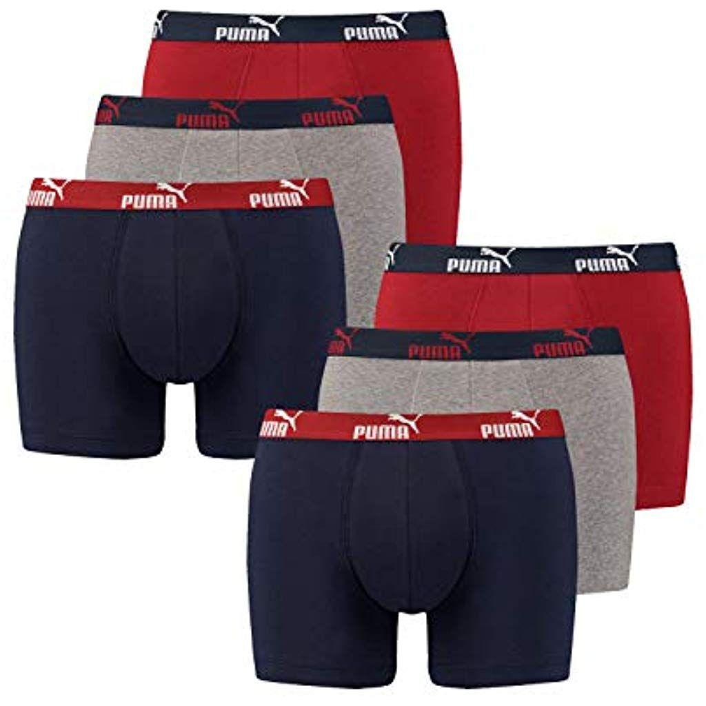 6 er Pack Puma Short Boxer Boxershorts Men Pant Unterwäsche