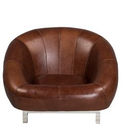 Timeless Leather Cigar Low Seatting by Three Sixty Degree