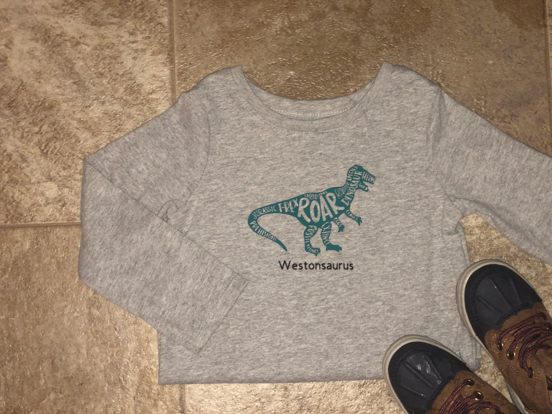 Kids Dinosaur Shirt