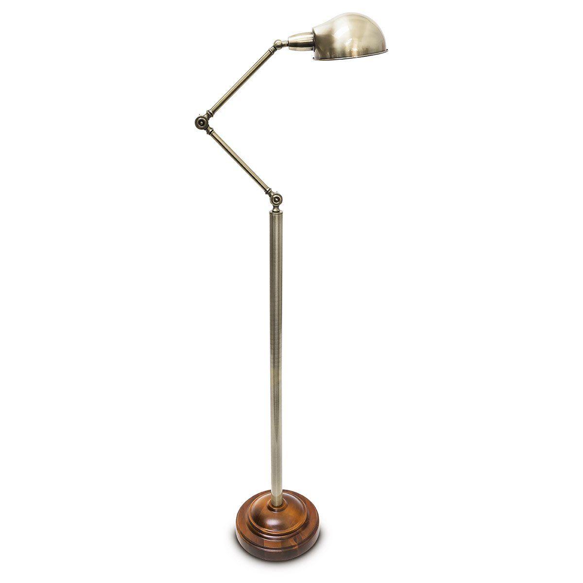 Relaxdays Stehlampe Im Industrial Look 179 Cm Verstellbar Metall