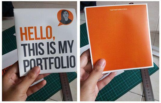 10 beautiful paper portfolios to inspire you portfolio examplesportfolio bookmailer designgraphic - Graphic Design Portfolio Ideas