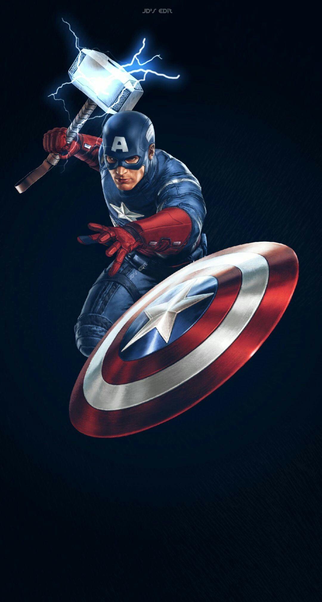Avengers Endgame Marvel Captain Marvel Thor Black Widow Captain Tony Ironman Spiderman Wanda Nebula Wallpaper Pahlawan Super Pahlawan Marvel Kartun