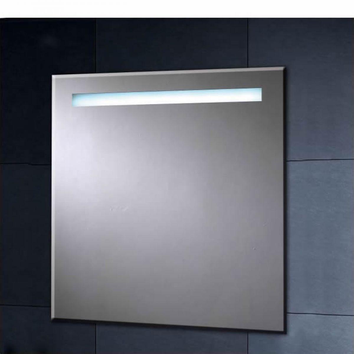 Phoenix Illuminated Heated Mirror With Shaver Socket 600mm Bathroom Mirrors Uk Mirror Led Mirror