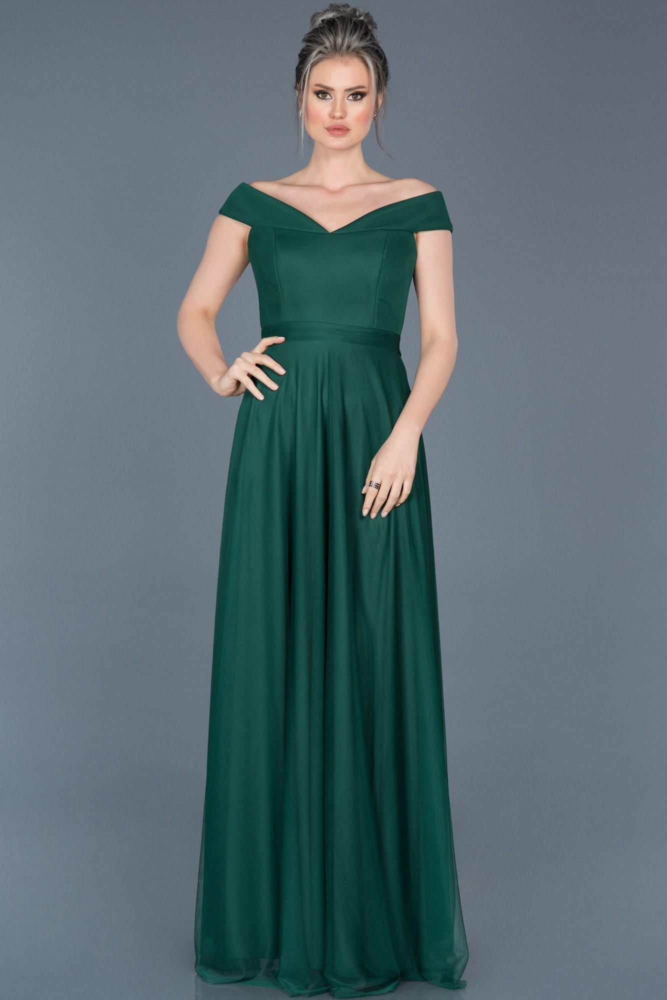4654f22520a9c #uzun abiye elbise, #evening dresses long, #night dresses, #2019 abiye  modelleri, #yesil, #green, #kayıkyaka, #boatneck, #abiye, #abiyefon