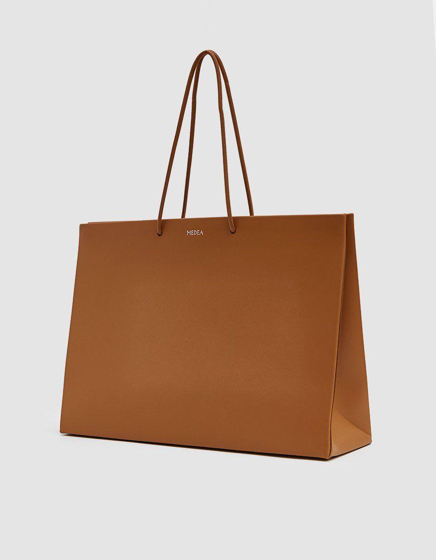 51301c4ee Medea / Venti Prima Tote in Brown in 2019 | Bag It! | Brown, Large ...